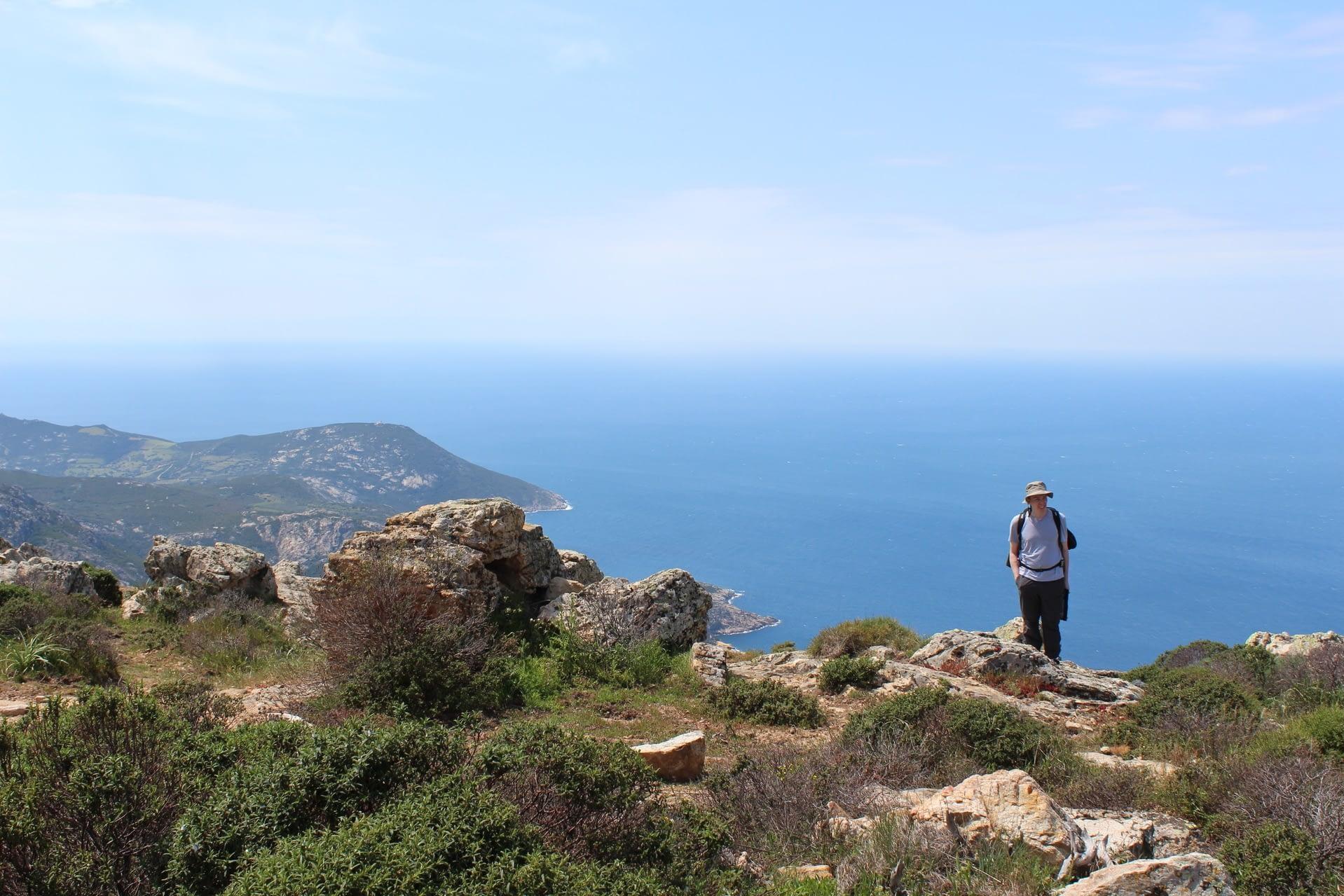 walking corsica