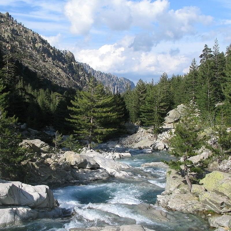 Restonica river corsica