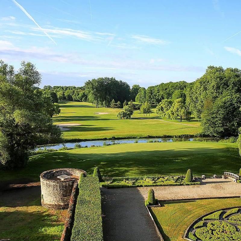 Chateau d'Augerville gardens