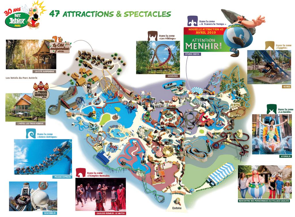 parc asterix map