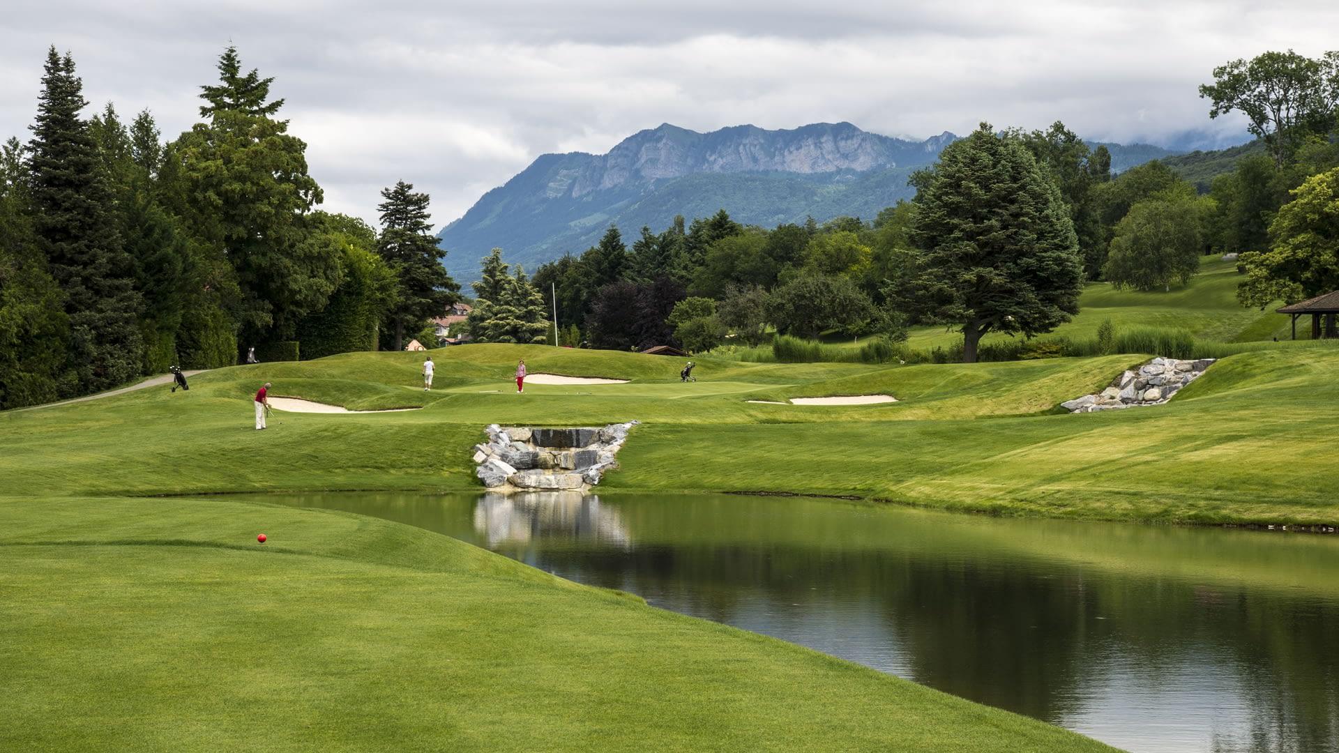 The Evian Resort golf
