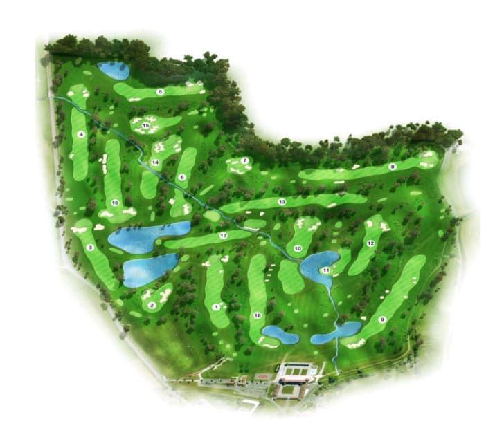 Hotel Golf Château de Chailly golf course