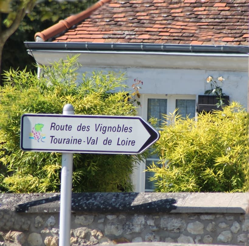 Loire road sign
