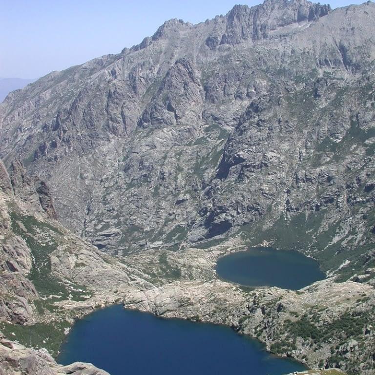 Melo and Capitello lakes Corsica
